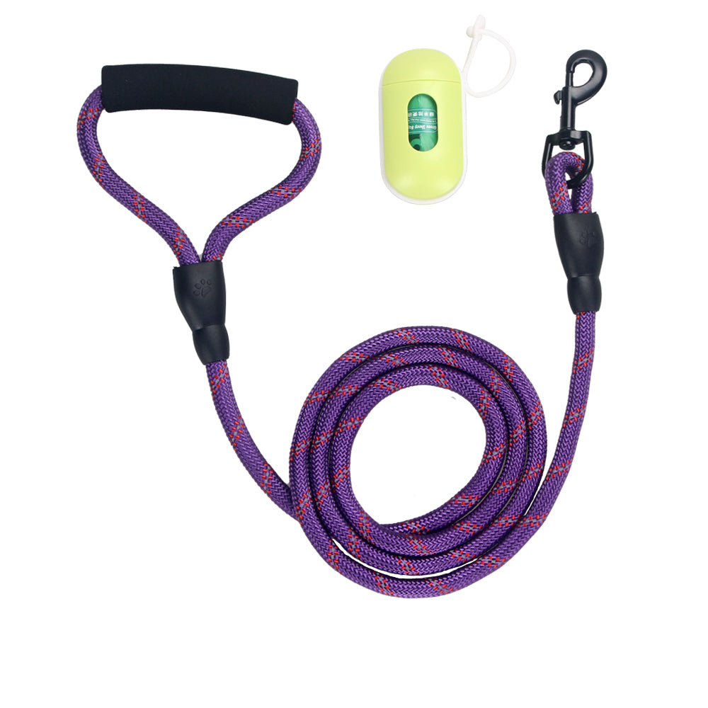 6 Inch Strong Dog Leash with Comfortable Padded Handle
