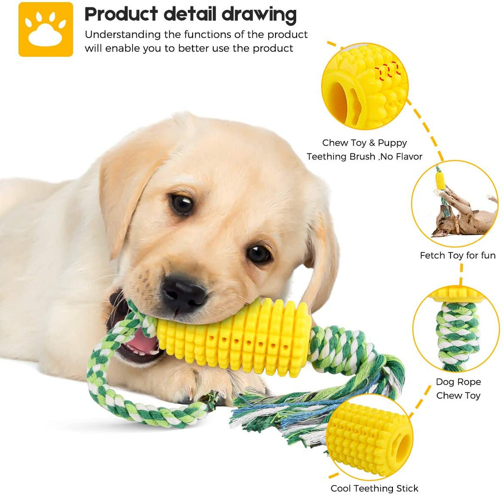 Growom Dog Chew Toys for Medium Large Dogs