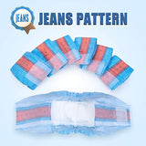 Male-Dogs Jeans Super Absorbent Soft Pet Diapers-Dog diapers-petsoftcare-petsoftcare