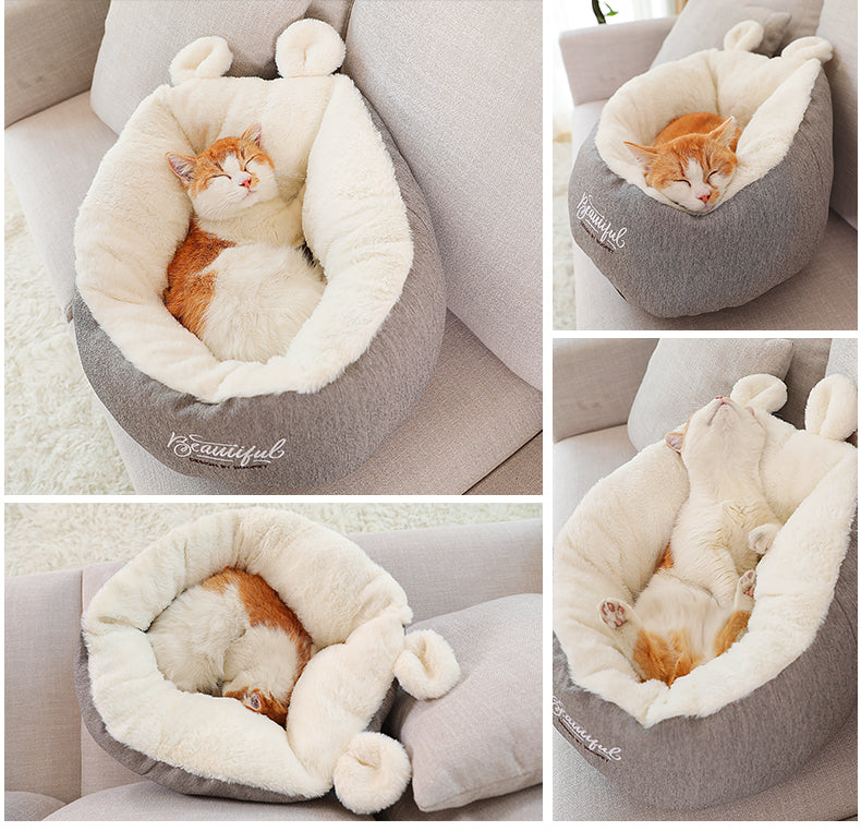 Cat Soft Comfortable Winter House