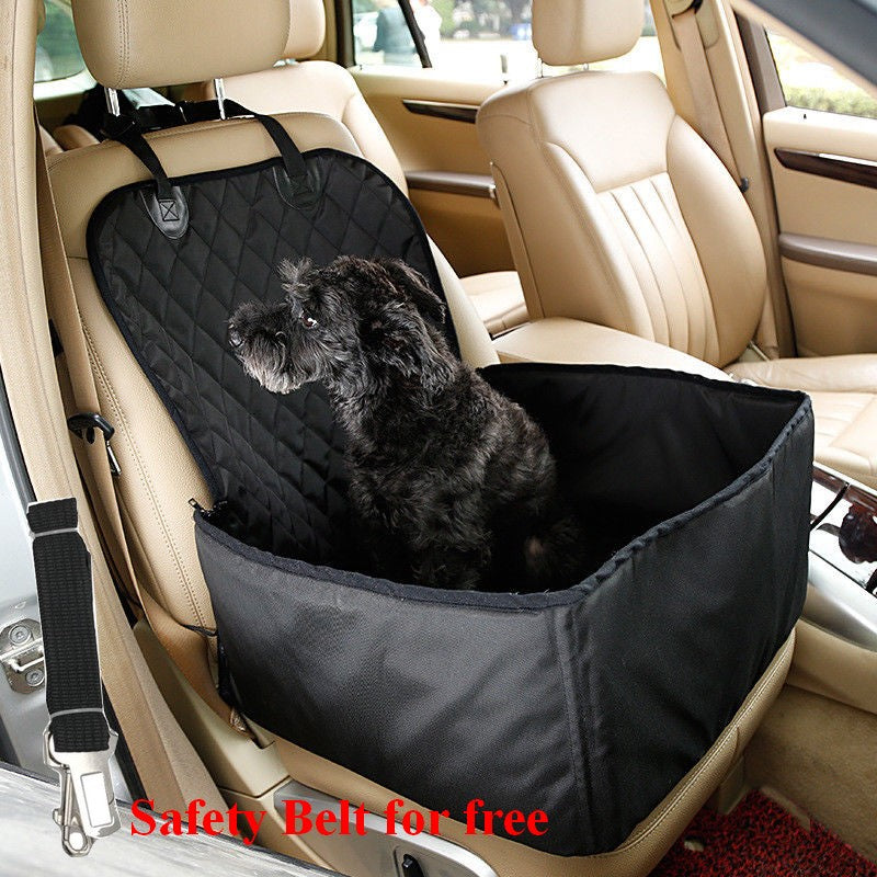 2 in 1 Car Front Pet Car Seat Cover