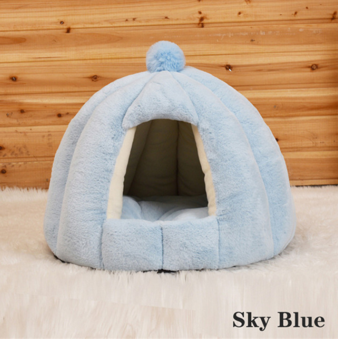 Cat Dog Cute House Bed