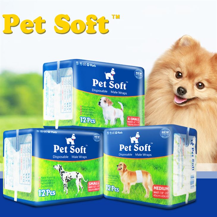 Pet Soft Disposable Diaper For Male and Female Dog