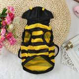 Pet Dog Clothes Hoodie Fancy Cat Bee Costume Puppy Coat-Halloween shop-petsoftcare-petsoftcare