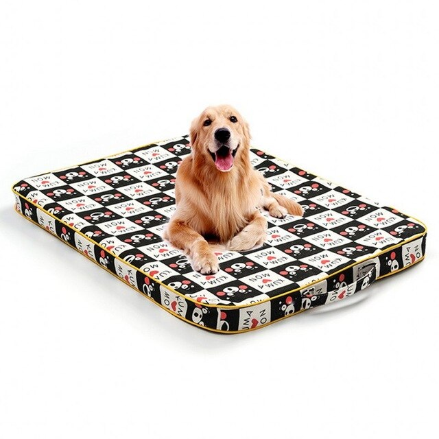 Filling Sponge Thicken Warm Dog Cushion House-Dog beds-petsoftcare-Cute monkey-85x60cm-petsoftcare