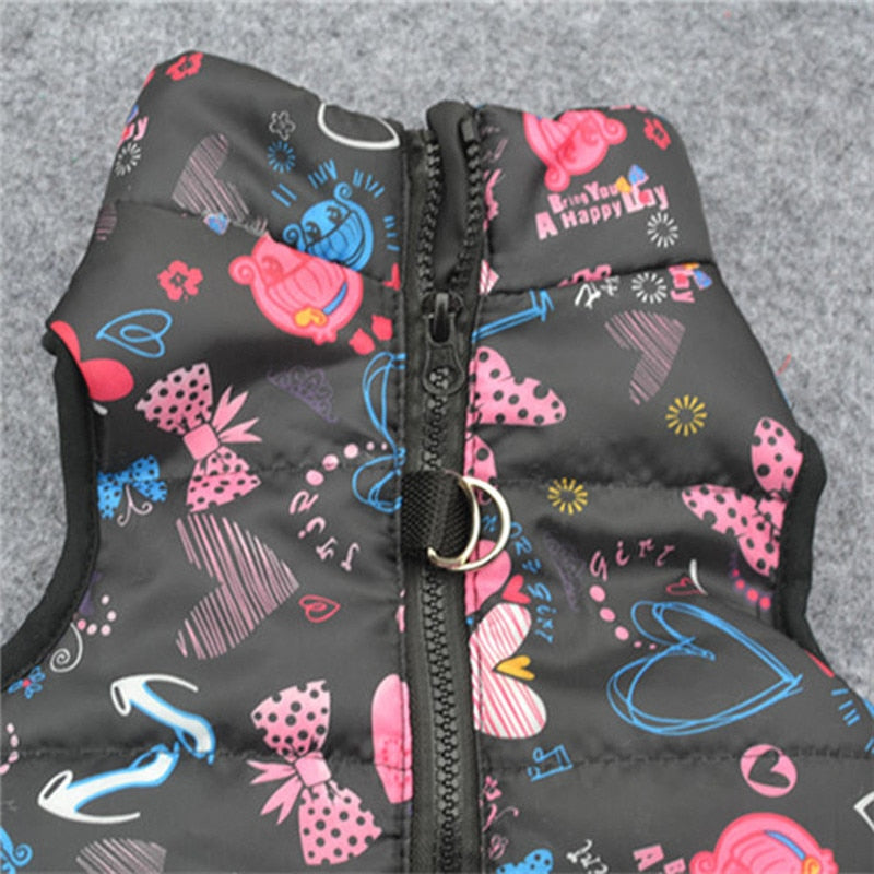 Fashion Pet Dog Jacket Clothes Winter Warm Puppy Vest-Dog apparel-petsoftcare-petsoftcare