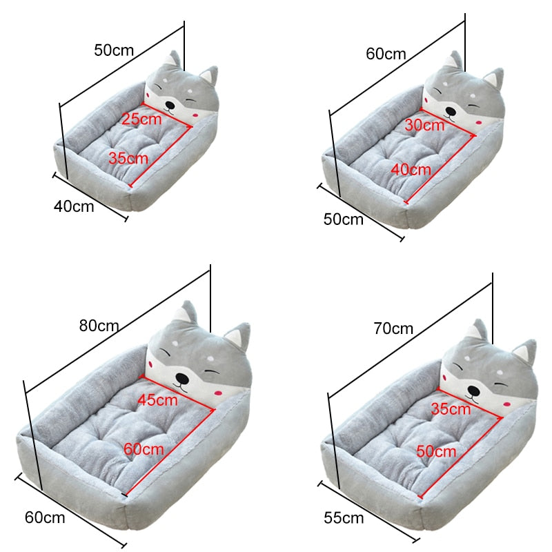 Cute Pet Winter Dog Bed Sofa-Dog beds-petsoftcare-petsoftcare