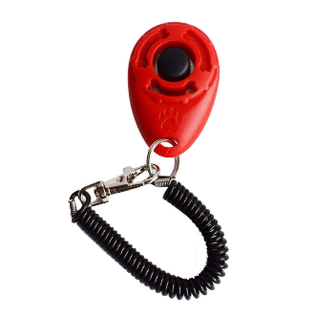 Dog Clicker Training Aid Wrist Strap Smart Dog Training Accessory-Dog toys-petsoftcare-RD-China-petsoftcare