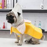 Banana Tunic Funny Theme Dog Winter Coat Jacket-Dog apparel-petsoftcare-petsoftcare