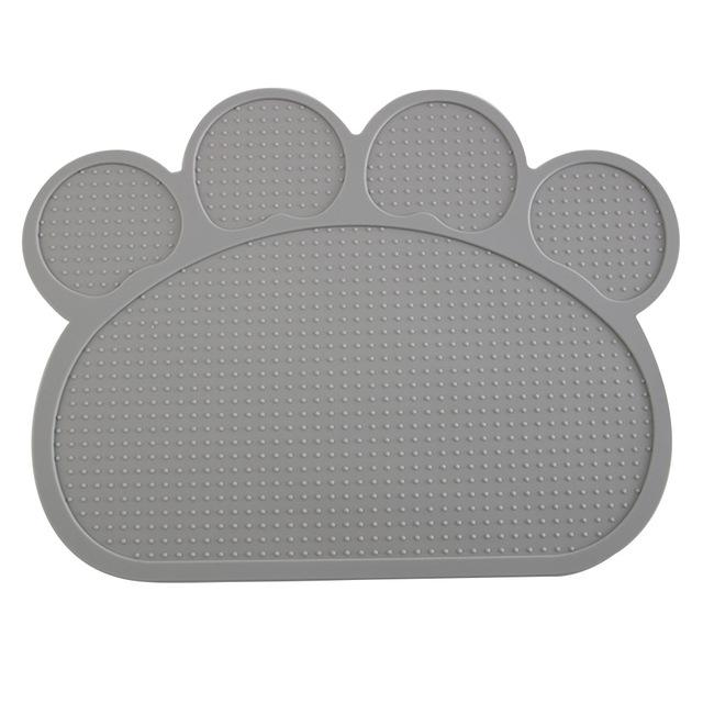 Dog Feeding Placemat easy Washing-Dog toys-petsoftcare-Gray-petsoftcare
