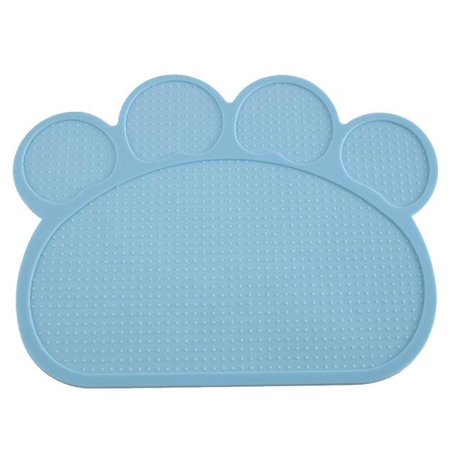Dog Feeding Placemat easy Washing-Dog toys-petsoftcare-Blue-petsoftcare