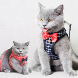 Cat Dog Harness Vest With Lead Leash-Cat collars-petsoftcare-petsoftcare