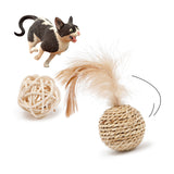 Interactive Play Woven Chew Toys For Cat-Cat toys-petsoftcare-petsoftcare
