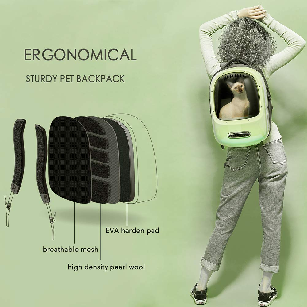 Portable Cat Carrier Backpack Travel Space Capsule for Cat and Small Dog-Cat bags-petsoftcare-petsoftcare