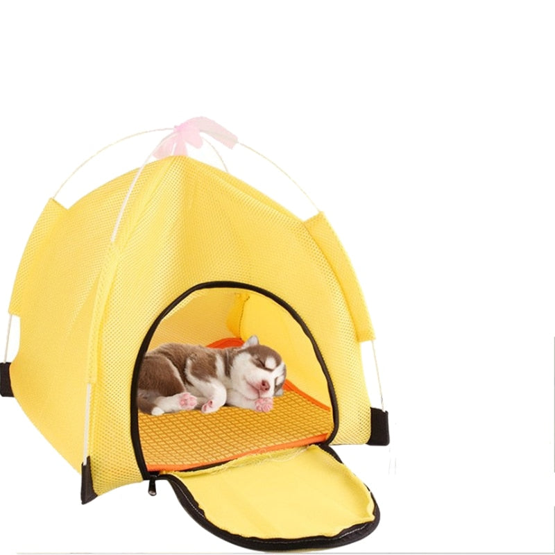 Foldable Pet Tent For Outdoor Indoor-Crates, Gates & Containment-petsoftcare-petsoftcare