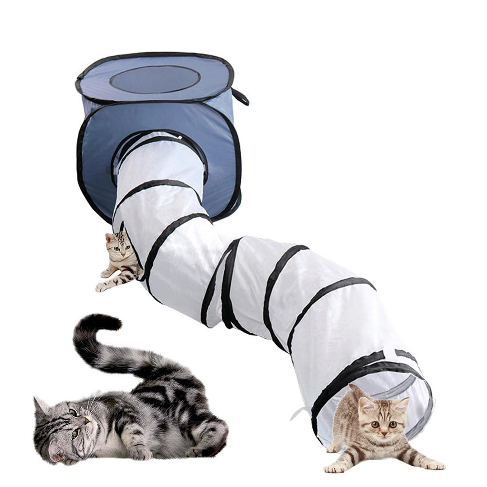 Cat Tunnel Toy Pop Up Collapsible-Cat toys-petsoftcare-petsoftcare