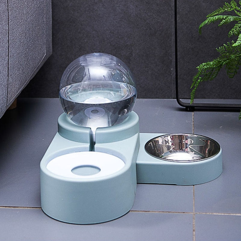 Water Fountain Automatic Pet Feeder For Dogs Cats-Cat Feeder & Waterers-petsoftcare-petsoftcare