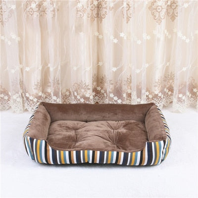 Bed Sofa Lounger For Dog-Dog beds-petsoftcare-brown-90-petsoftcare