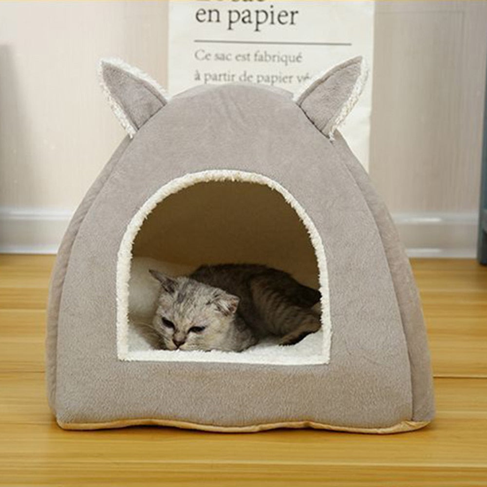 Self Warming Removable Cat Bed-Cat bed-petsoftcare-petsoftcare