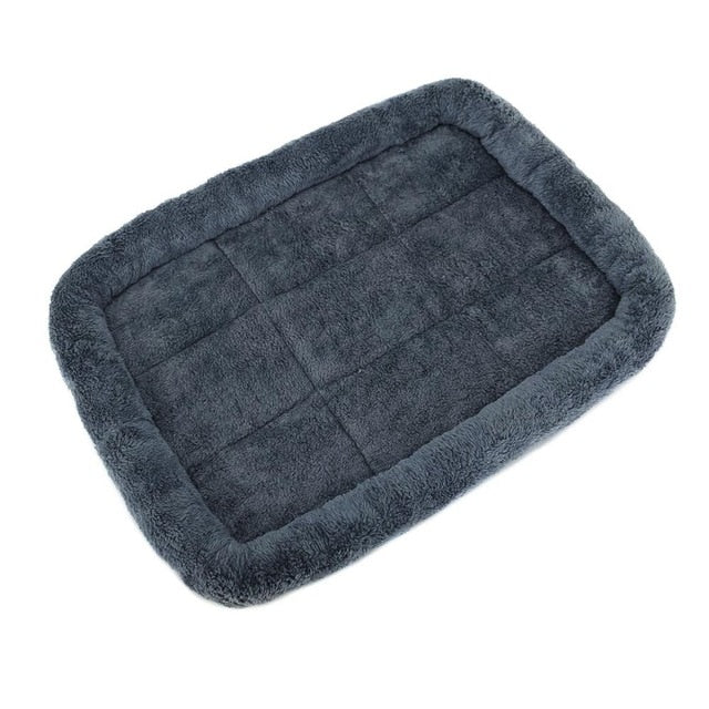 Washable Crate Mattress Non Slip Pet Cushion-Dog beds-petsoftcare-Dark Grey-M 60 x 45 cm-petsoftcare