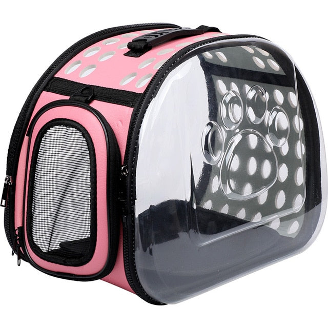 Pet Dog Cat backpack Travel cat carrier-Cat bags-petsoftcare-Pink-L42xW25xH32cm-petsoftcare