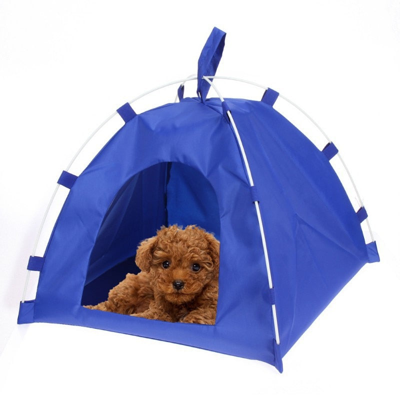 Oxford Pets Outdoor Portable Tent House Universal Waterproof Travel