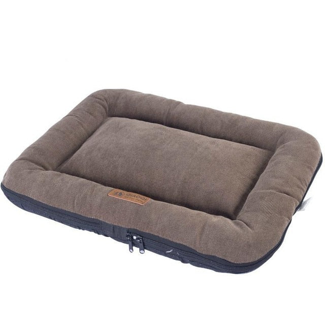 Soft Dog Bed Mattress Mat-Dog beds-petsoftcare-BROWN-48X35CM-China-petsoftcare