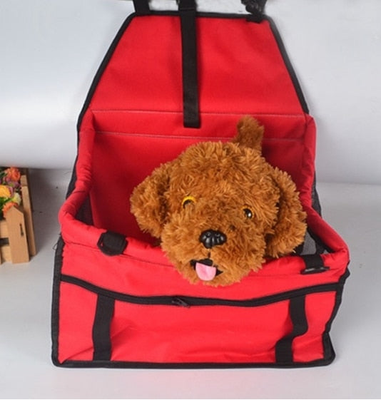 Dog Car Carrier Seat Bag Waterproof Basket-Cat bags-petsoftcare-2-40x30x25 cm-petsoftcare