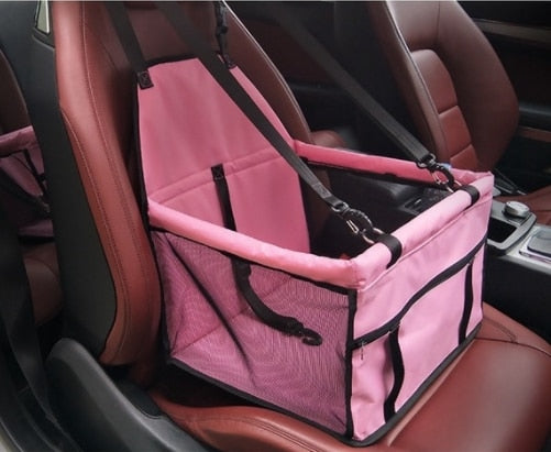 Dog Car Carrier Seat Bag Waterproof Basket-Cat bags-petsoftcare-4-40x30x25 cm-petsoftcare