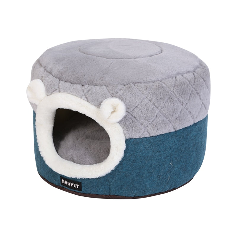 Winter Warm Sleeping Mat Supplies For Cat-Cat beds-petsoftcare-Blue Bed-S 40x40x31cm-petsoftcare