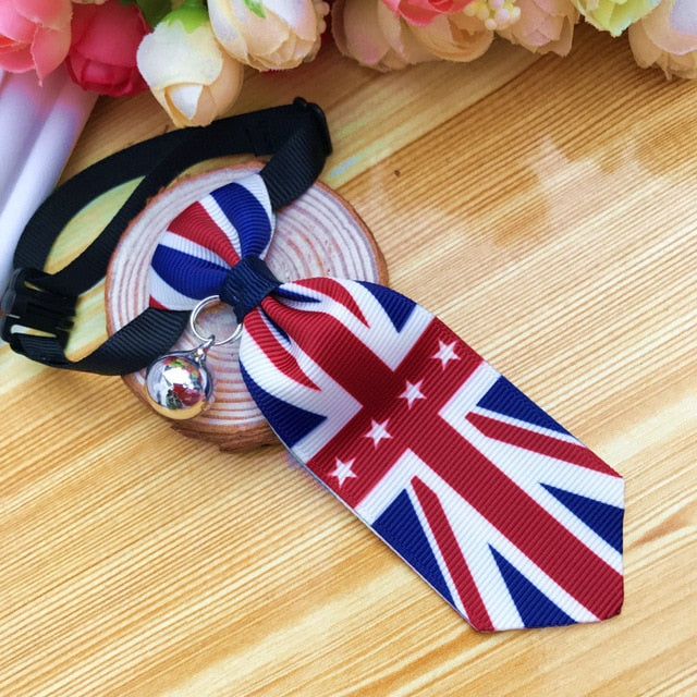 Costume Clip Tie for Cats and Dogs-Cat collars-petsoftcare-Clip Tie 01-S-petsoftcare