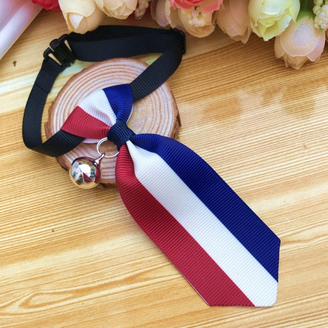 Costume Clip Tie for Cats and Dogs-Cat collars-petsoftcare-Clip Tie 02-S-petsoftcare