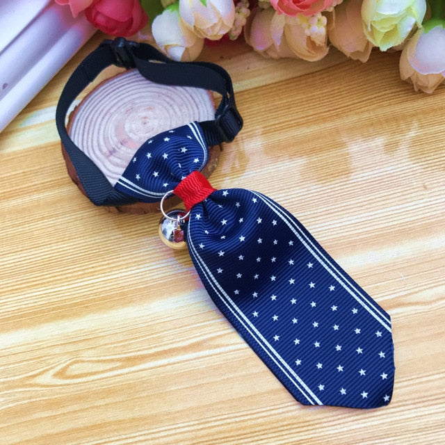 Costume Clip Tie for Cats and Dogs-Cat collars-petsoftcare-Clip Tie 03-S-petsoftcare