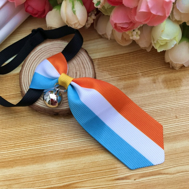 Costume Clip Tie for Cats and Dogs-Cat collars-petsoftcare-Clip Tie 05-S-petsoftcare
