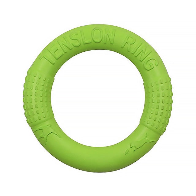 Dog Training Ring Puller Resistant Bite Floating Toy-Dog toys-petsoftcare-Green-petsoftcare