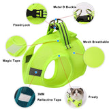 Cat Harness and Leash Set Breathable Rope Vest-Cat collars-petsoftcare-petsoftcare