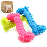 Dog Toys Rubber Resistant To Bite Bone Thermal Plastic TPR For Teeth Training
