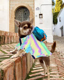 Reflective Flashing Light Dog Clothes-Dog apparel-petsoftcare-petsoftcare