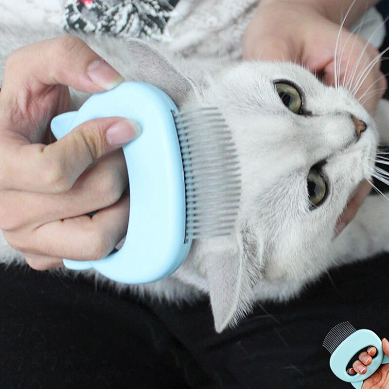 Grooming Massage Brush cat Hair Remover-Cat grooming-petsoftcare-petsoftcare