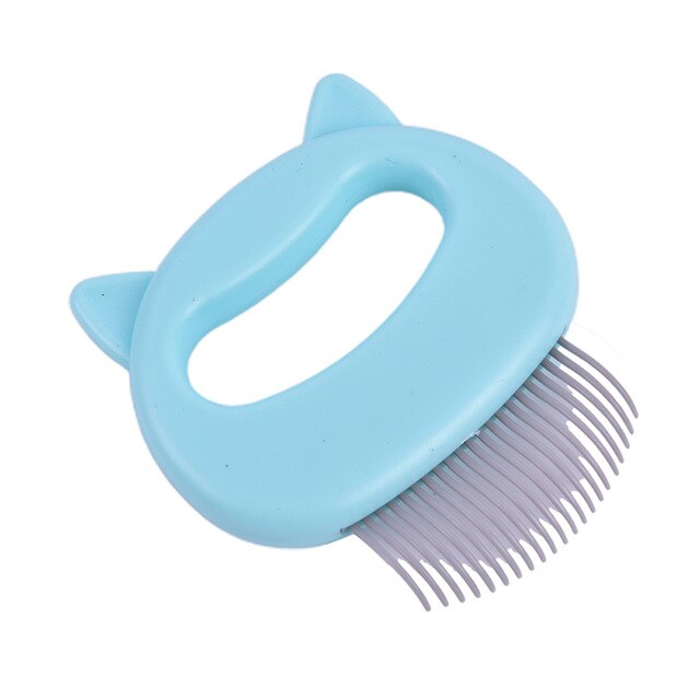 Grooming Massage Brush cat Hair Remover-Cat grooming-petsoftcare-green-petsoftcare