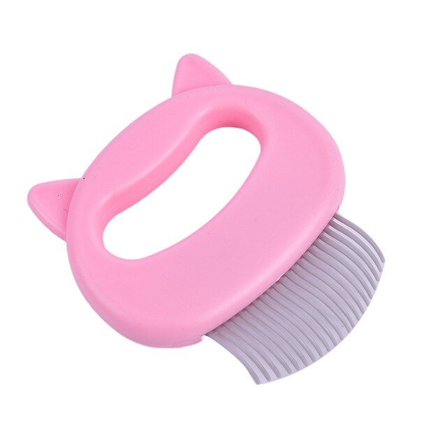 Grooming Massage Brush cat Hair Remover-Cat grooming-petsoftcare-pink-petsoftcare