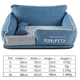 Cat&Dog Warm Sleeping Cotton-Dog beds-petsoftcare-NavyBlue-S-petsoftcare