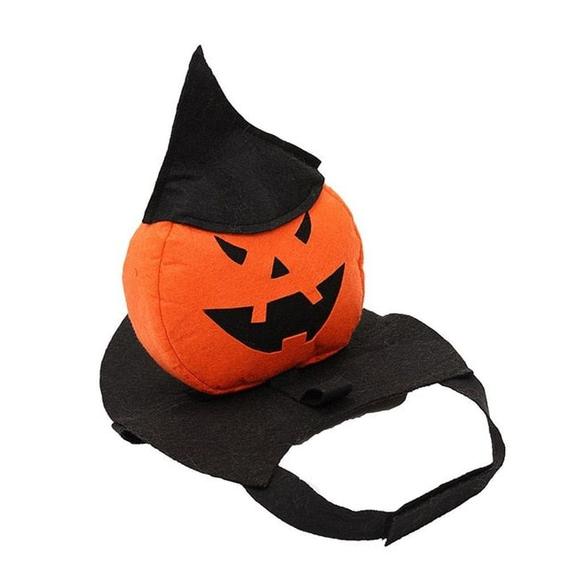Funny Halloween Pet Clothes Christmas Pumpkin Cosplay Costume Suit-Halloween shop-petsoftcare-M-petsoftcare