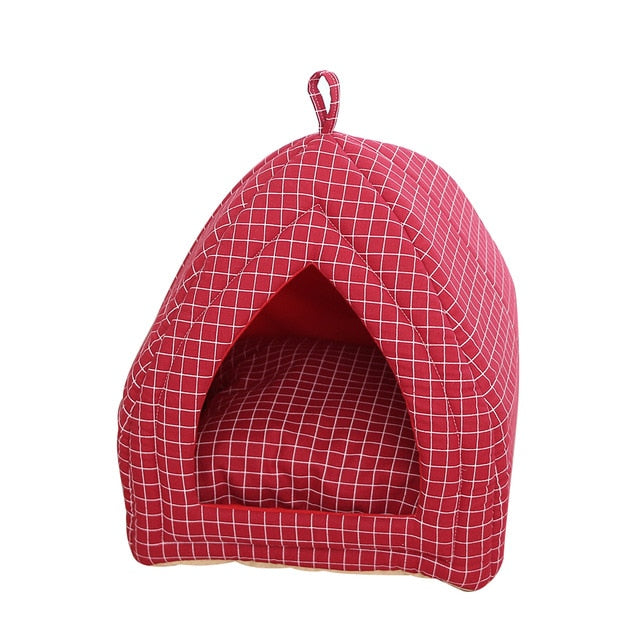 Warm Sleeping Cats Nest Washable Pet Beds-Cat beds-petsoftcare-Style1-3-L-petsoftcare