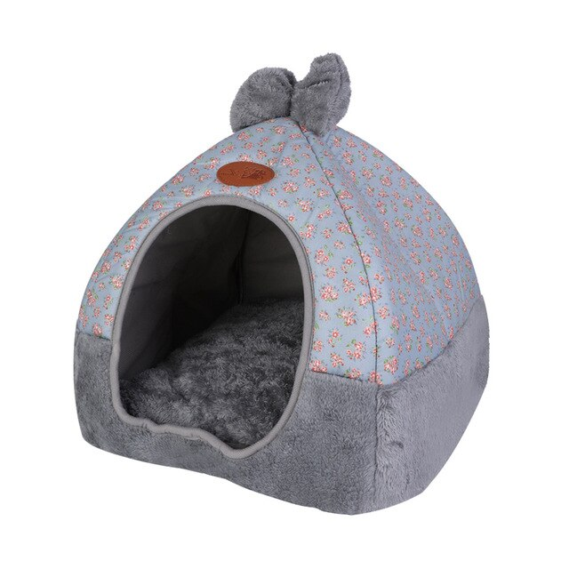 Warm Sleeping Cats Nest Washable Pet Beds-Cat beds-petsoftcare-Style2-1-L-petsoftcare