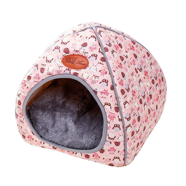 Warm Sleeping Cats Nest Washable Pet Beds-Cat beds-petsoftcare-Style2-4-L-petsoftcare