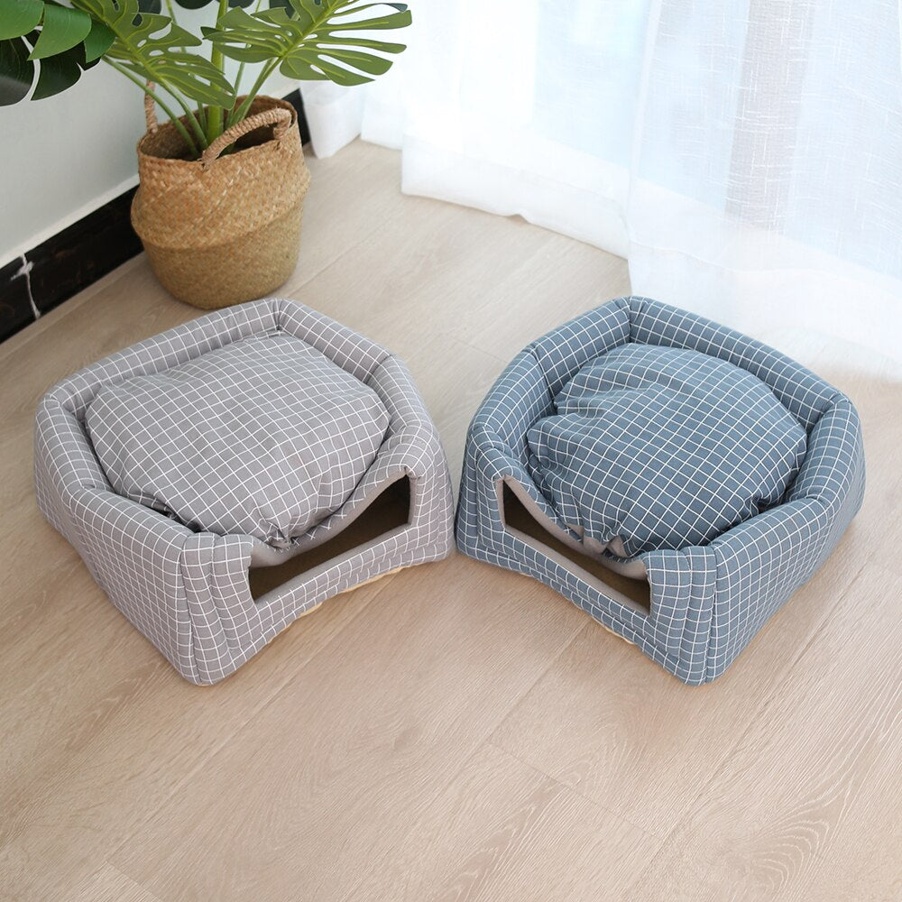 Warm Sleeping Cats Nest Washable Pet Beds-Cat beds-petsoftcare-petsoftcare