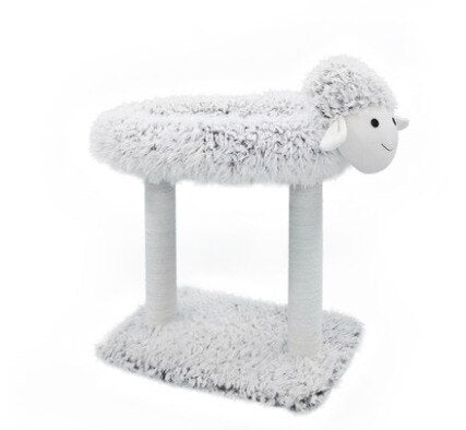 Lamb shape Sisal Rope Removable Cat Tree-Cat Trees & Condons-petsoftcare-A-petsoftcare