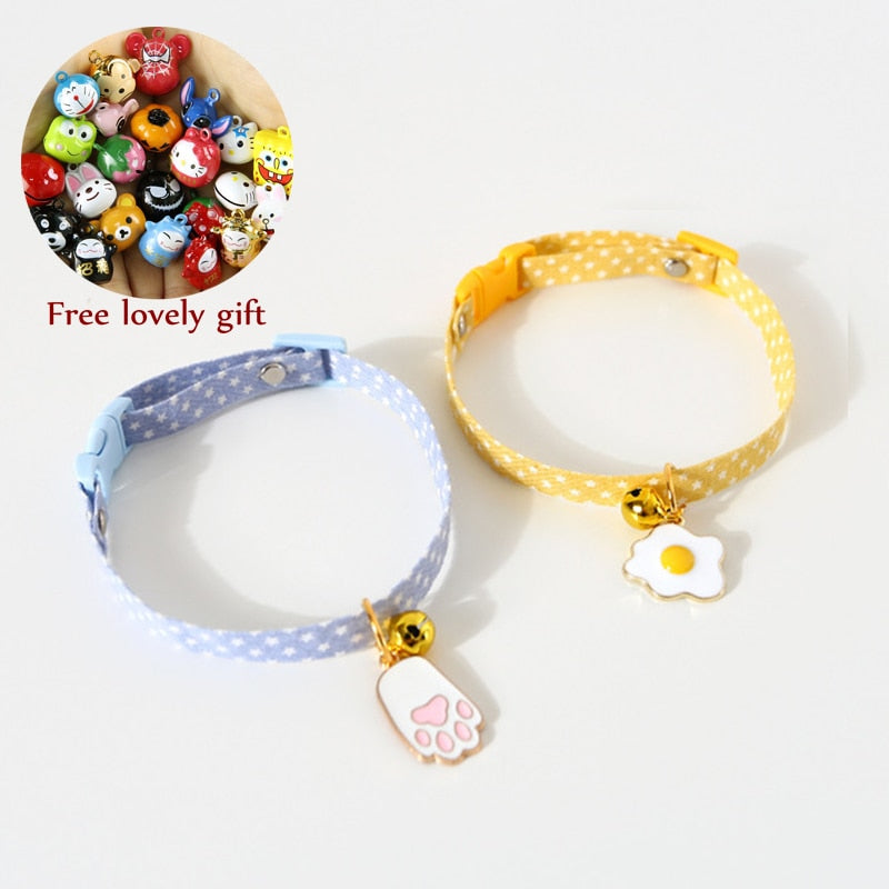 Kitten Collar with Bell Cut Cat Collars-Cat collars-petsoftcare-petsoftcare