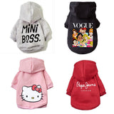 Dog Jacket Coat Puppy Christmas Clothing Hoodies For Small Medium Dogs